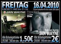Jan Wayne live on turns@Excalibur