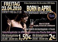 Born in April@Excalibur