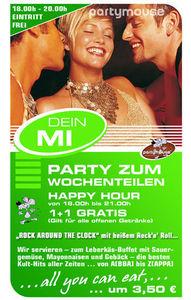 Party zum Wochenteilen @ Partymouse@Partyhouse Auhof
