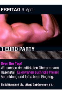 1 € Party@Hasenstall
