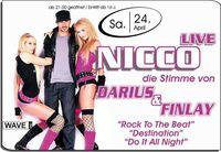 Nicco live - Die Stimme von Darius & Finlay@Brooklyn