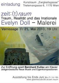 zeit:(t)raum Traum, Realität und das Irrationale. Evelyn Doll - Malerei@Verein welt&co