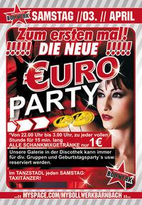 Die neue €uro-Party@Bollwerk