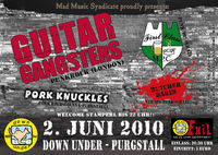 Guitar Gangsters and support@Down Under
