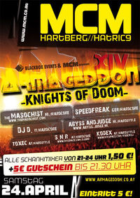 Armageddon XIV, Knights of Doom!@MCM Hartberg
