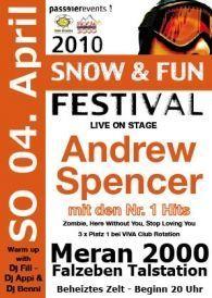 SNOW & FUN Festival 2010@Meran 2000