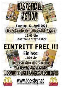 BBC McDonald´s Steyr : D.-Wagram@Stadthalle Steyr-Tabor