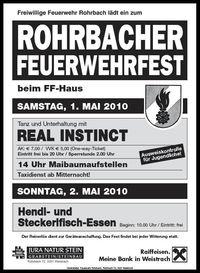 Rohrbacher Feuerwehrfest@Rohrbacher Feuerwehrfest