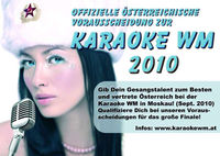 Karaoke WM 2010@Gabriel Entertainment Center