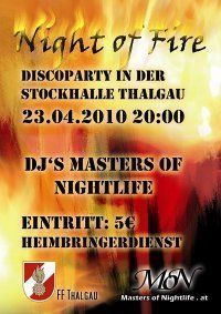 Night of Fire Party@Stockhalle Thalgau