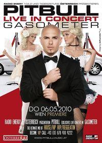 Pitbull & Band live in concert@Gasometer - planet.tt