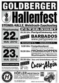 Goldberger Hallenfest@Steindl Halle