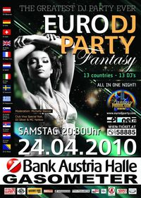 Fantasy Euro Dj Party @Gasometer - planet.tt