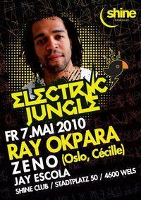 Electric Jungle with Ray Okpara (Oslo, Cécille)@Shine