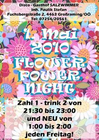 Flower Power Night @Disco Soiz