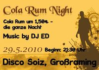 Cola Rum Night@Disco Soiz