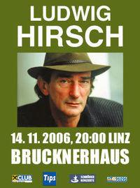 Ludwig Hirsch - In Ewigkeit DAmen@Brucknerhaus