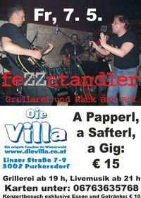 feZZntandler LIVE@Die Villa