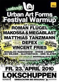 Urban Art Forms Festival Warmup@Lokschuppen