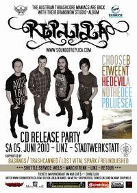 Replica CD Release Party@Stadtwerkstatt