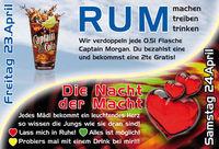 Rum, machen, treiben, trinken