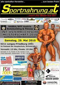 Bodybuilding & Fitness - Internationale Österreichische Meisterschaft 2010@Hauptschule - Festsaal
