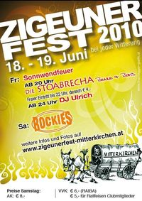 Zigeunerfest 2010@Langeder-Halle Wagra