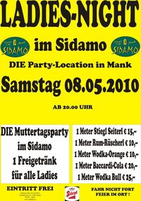 Ladies Night@Cafe Sidamo Mank