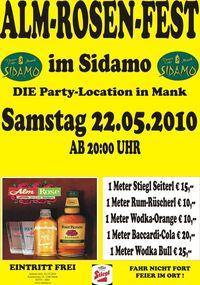 Alm-Rosen-Fest im Sidamo@Cafe Sidamo Mank
