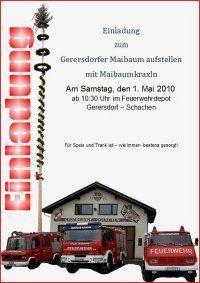 Maibaumkraxln/ Maibaumaufstellen@Feuerwehrdepot Gerersdorf Schachen