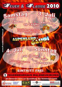 Feuer & Flamme 2010@Feuerwehrhaus