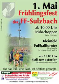 Frühlingsfest FF-Sulzbach@Feuerwehrhaus Sulzbach