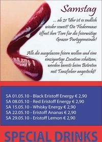Samstag @ Fledermaus@Fledermaus Graz
