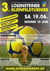 3. Losensteiner Kleinfeldturnier@Fußballplatz Losenstein
