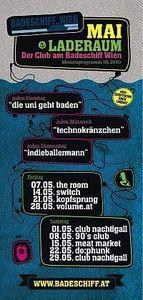 Technokränzchen@Badeschiff