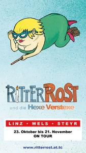 Ritter Rost und die Hexe Verstexe on Tour!@Volkshaus Linz Ebelsberg