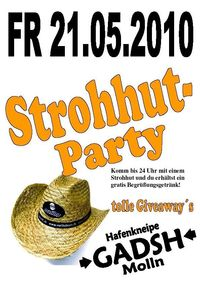Strohhut-Party@Gadsh