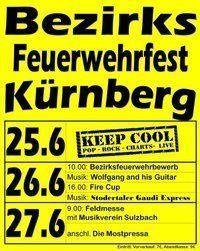 Bezirks-Feuerwehrfest Kürnberg@Sportanlage Kürnberg