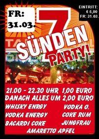 7 Sünden Party@Bar Pepito