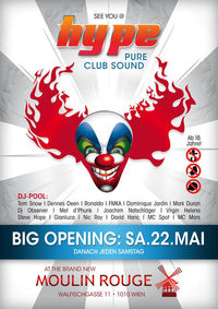 Hype - pure club sound@Moulin Rouge