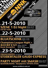 SZENE1 DJ Night @ Zeltfest NNK@Sportanlage