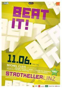Beat it! Stadtkeller mit Dj Michel Cleis