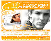 P-Family Event & Birthday XXXL