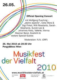 Musikfest der Vielfalt@Porgy & Bess