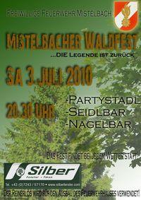 Mistelbacher Waldfest - Die Legende ist zurück@Waldfestgelände Mistelbach