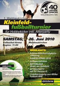 Fußball Hobbyturnier@Sportplatz Waldneukirchen