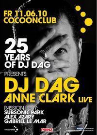 Dj Dag pres. 25 Years of dj Dag@Cocoon Club