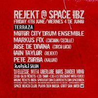 Rejekt Ibiza @Space Beach Club