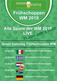 Frühschoppen WM 2010@Bierpub Krügerl