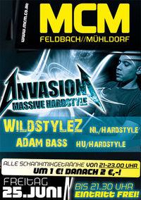 Invasion Massive Hardstyle, Wildstylez & Adam Bass!@MCM  Feldbach